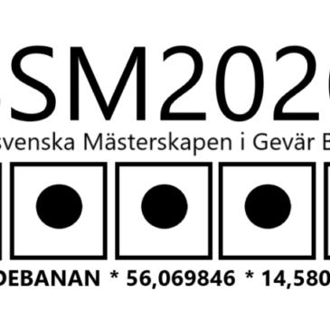 Vi arrangerar Sydsvenska Mästerskapen i Gevär Bana! Söndagen den 5 Juli 2020
